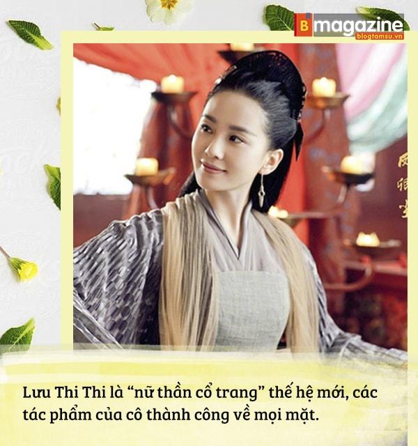 Lưu Thi Thi mờ nhạt ngày nào nay đã tỏa sáng thành 'Nữ thần cổ trang' tài sắc vẹn toàn - Ảnh 9