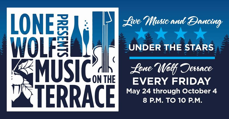 Music on the Terrace - Fridays from 8-10pm