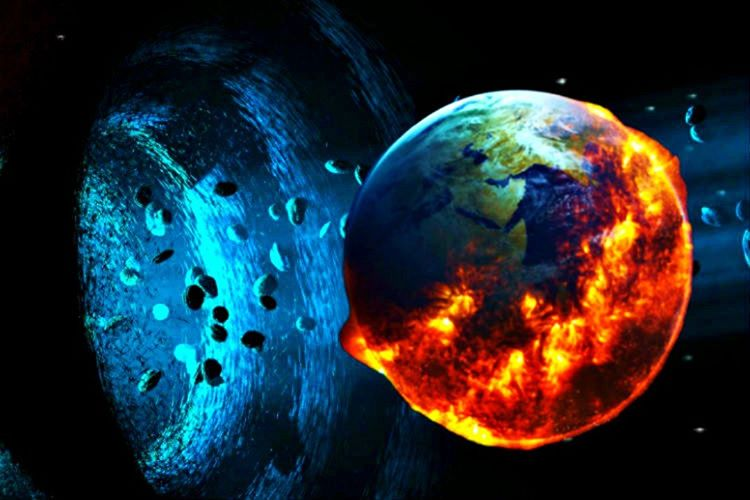 Gerçek bir kara delik güneş sistemimize girseydi, sistemde yer alan tüm gezegen ve yıldızları yutardı.