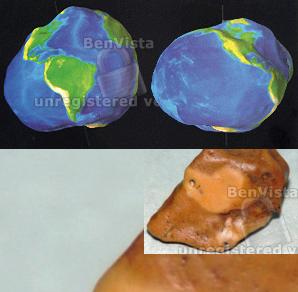 الأرض ليست كروية ولا بيضاوية