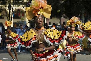 carnaval cubano, México, Chocò, Cartagena, Cancùn, USA, Brazil, Rio