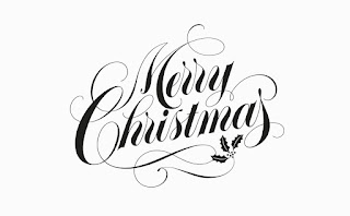 Merry Christmas Lettering