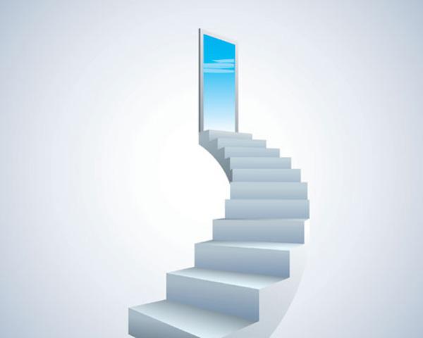 3d Door Wallpaper Free Vector がらくた素材庫 大空への階段 Stairway To The Sky