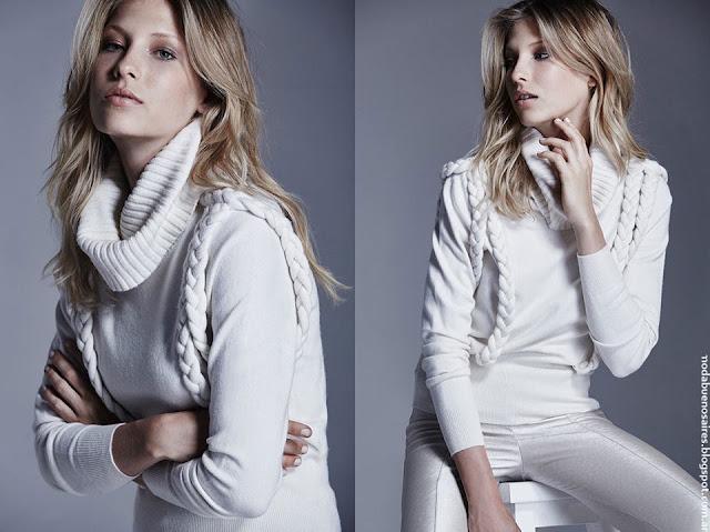 Moda invierno 2016 Delucca ropa de mujer.