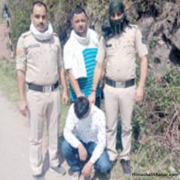 हिमाचल: पैदल जा रहे युवक से पुलिस ने पकड़ा 194 ग्राम चिट्टा
