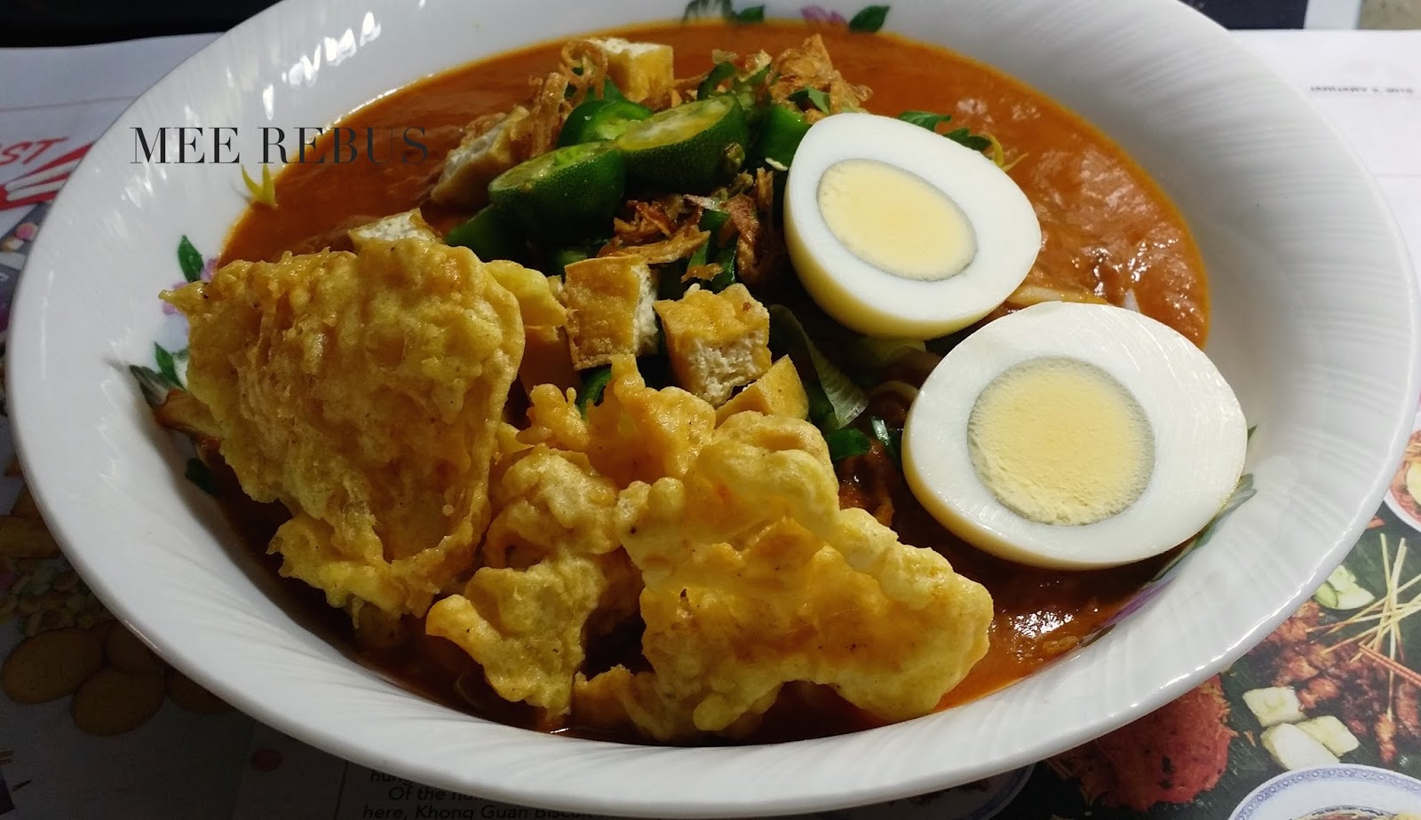 My Food Pick Mee Rebus A Local Hawker Is Delicious And Por Noodle Dish In Singapore I Ve Created With Easy Basic Steps