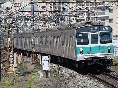 【209系の前は203系が引退!】203系の常磐線 松戸行き