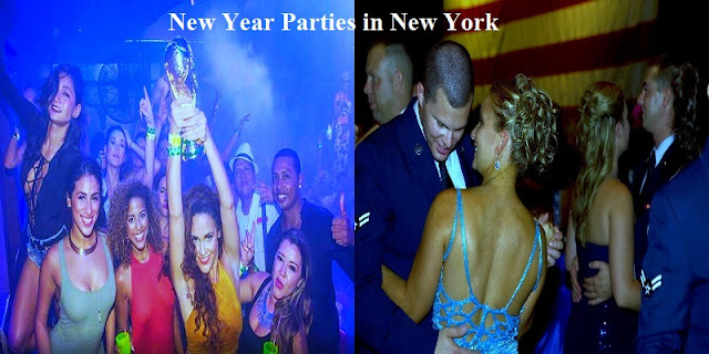New Year Nightclub in New York