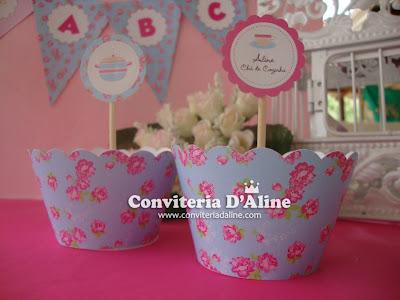decoração chá de cozinha provençal