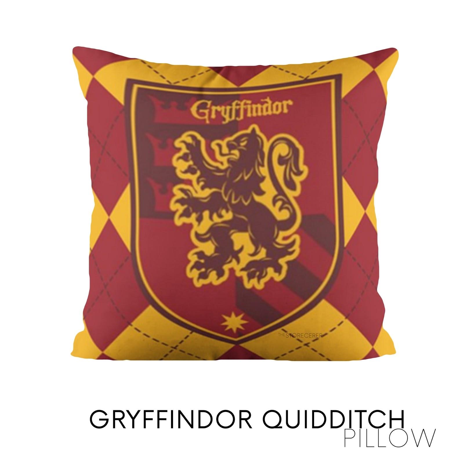 bantal kotak gryffindor quidditch