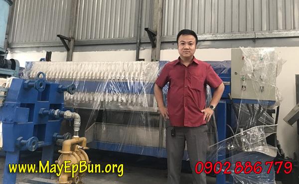 Chính sách linh hoạt cho các nhà thầu về máy ép bùn khung bản Vĩnh Phát
