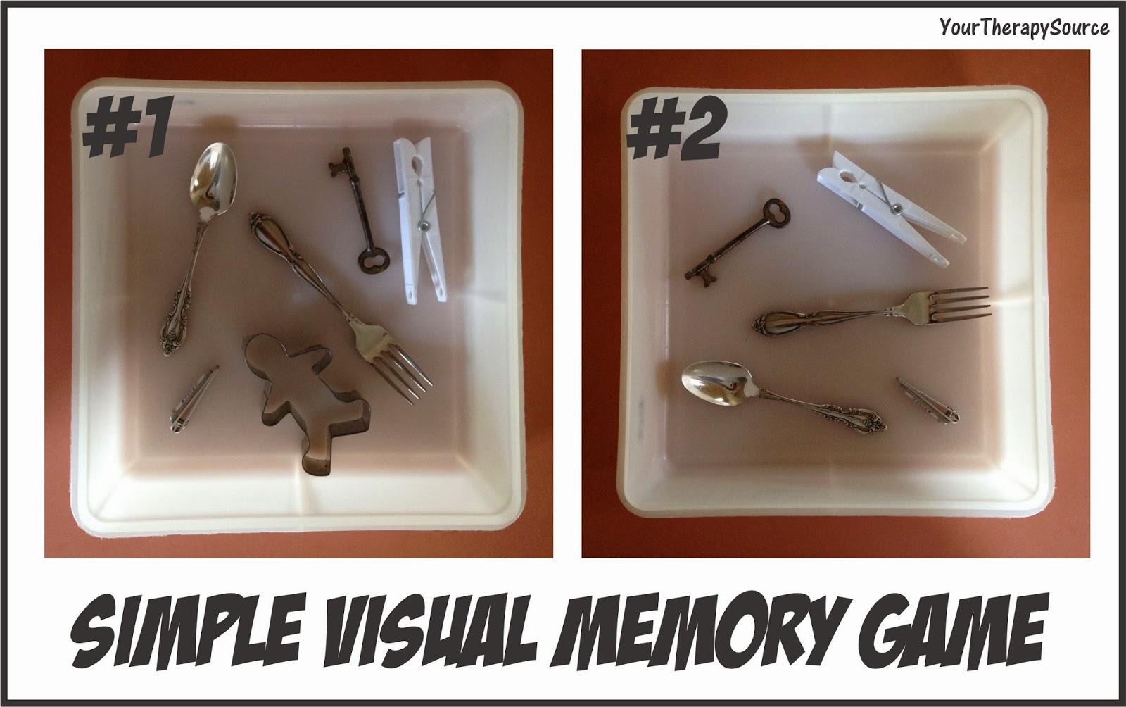 Simple Visual Memory Game