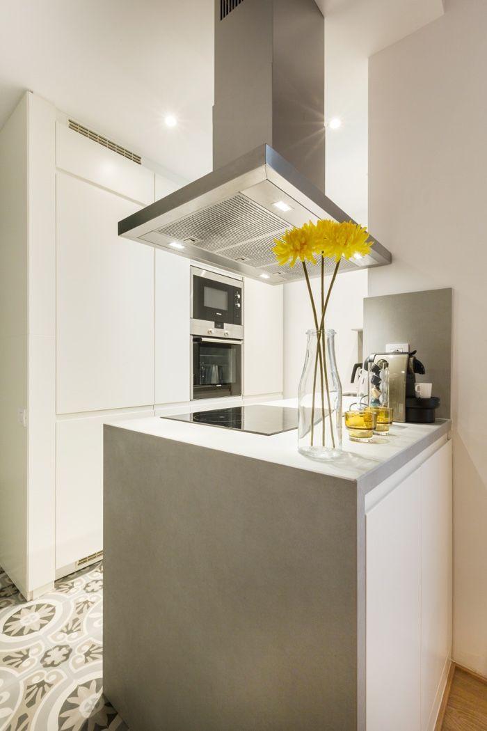 Energía positiva en la decoración de un apartamento muy estrecho ...