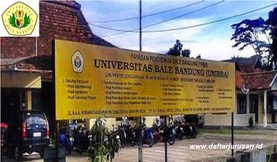Daftar Fakultas dan Program Studi UNIBBA Universitas Bale Bandung