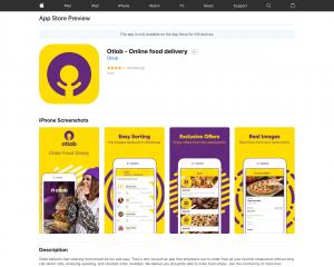 تحميل طتبيق اطلب للايفون و الاندرويد:Otlob - توصيل الطعام عبر الإنترنت