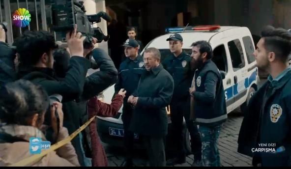 Çarpışma Dizisi Polis Haydar Kimdir Organize Müdürü