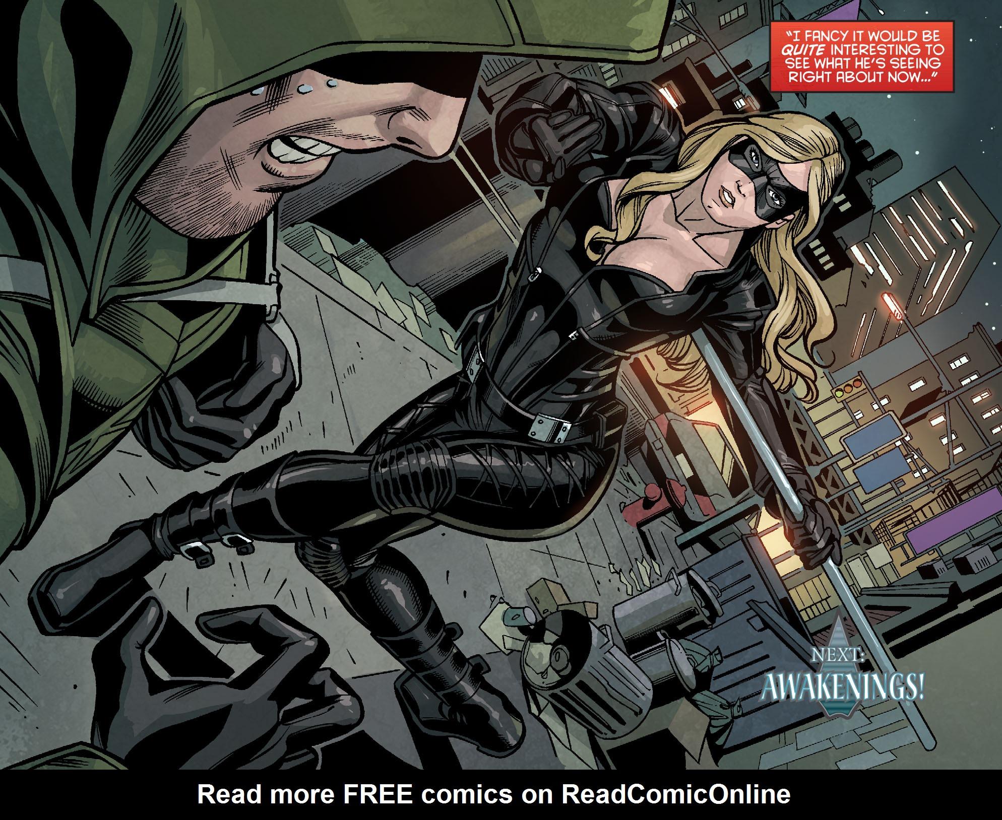 Read online Arrow: Season 2.5 [I] comic -  Issue #7 - 20