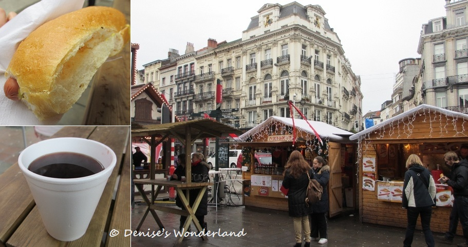 Tasty and cheap Brussels street food