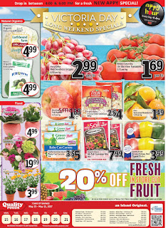Quality Foods Flyer May 15 to 21, 2017