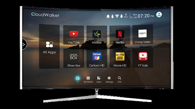 Cloud TV_App Screen