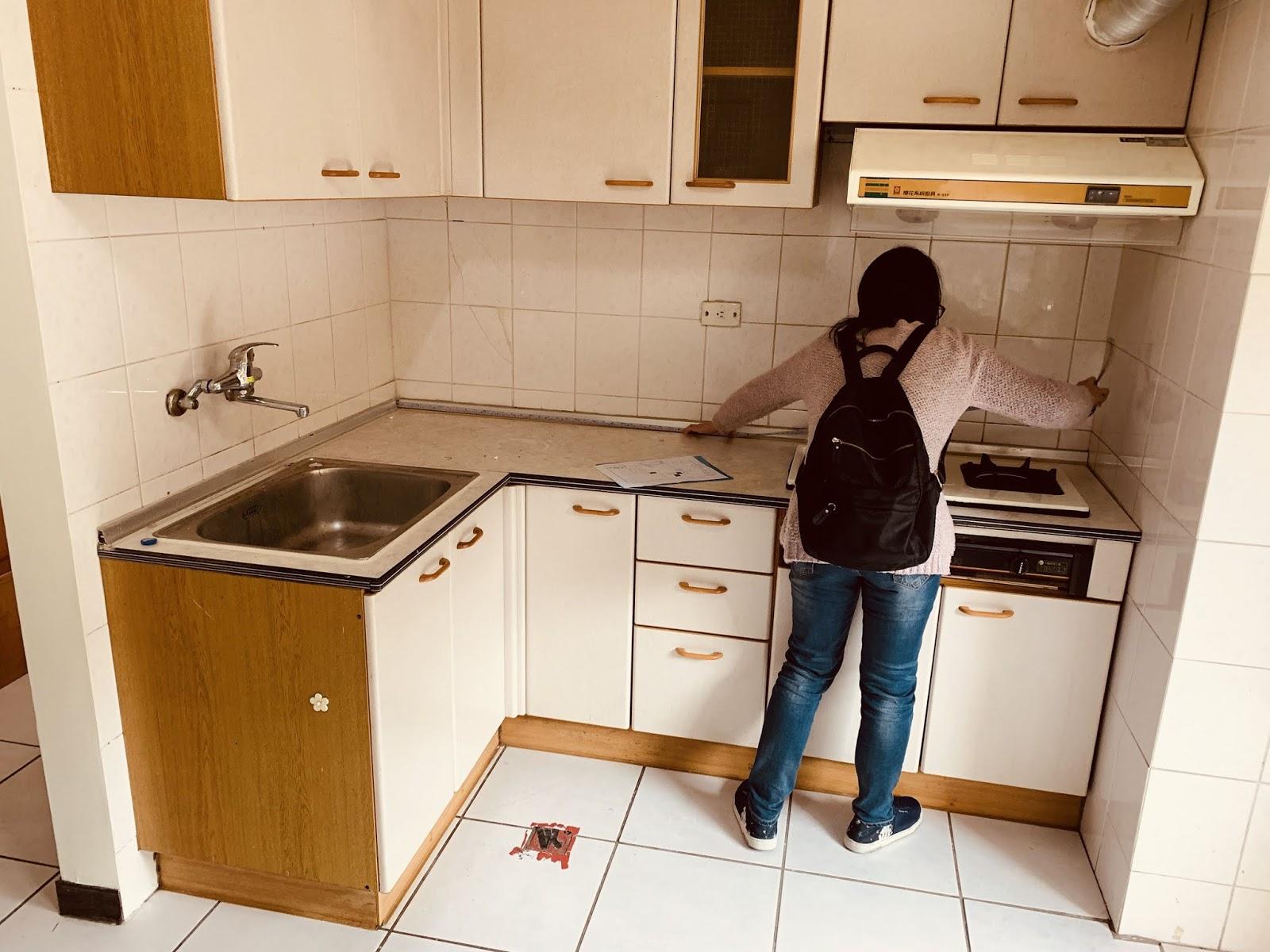 廚房-拆除前