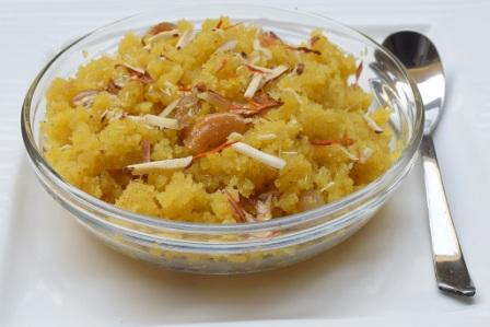 Sooji Halwa Hindi Recipe