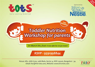 Trio Tots hosts Nestle Toddler Nutrition Workshop