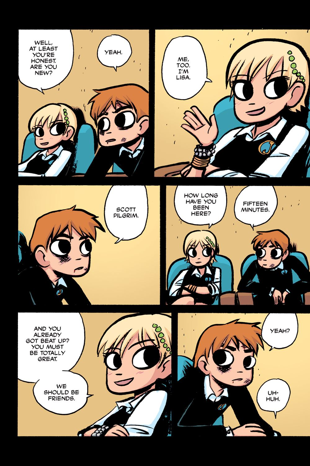 Scott Pilgrim Vol 2 Of 6 Scott Pilgrim Vs The World 2012