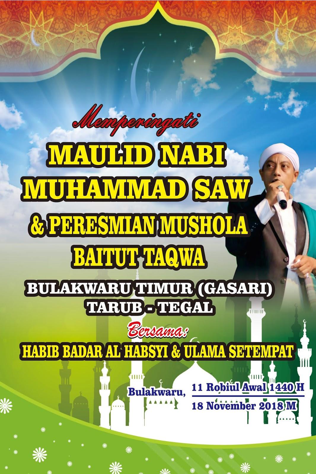 Perayaan Maulid Nabi Muhammad Saw - Ramadhan Enak