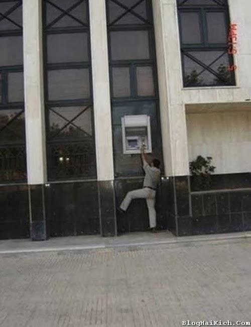 Ảnh vui điểm rút tiền ATM