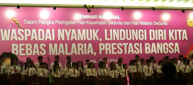 Materi Seminar Hari Kesehatan Sedunia - Hari Malaria Sedunia (HKS-HMS) tahun 2014