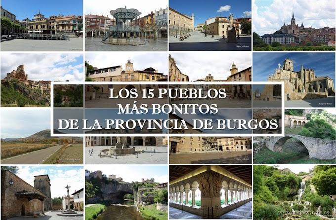 Los 15 pueblos más bonitos de Burgos