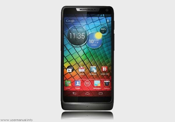Smartphone Motorola RAZR i with 2 GHz Atom Processor comes in October