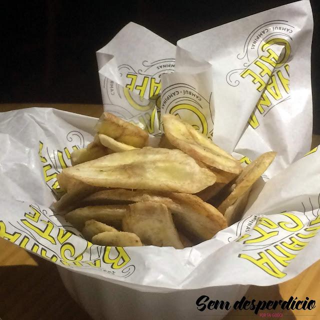 banana chips banana café campinas