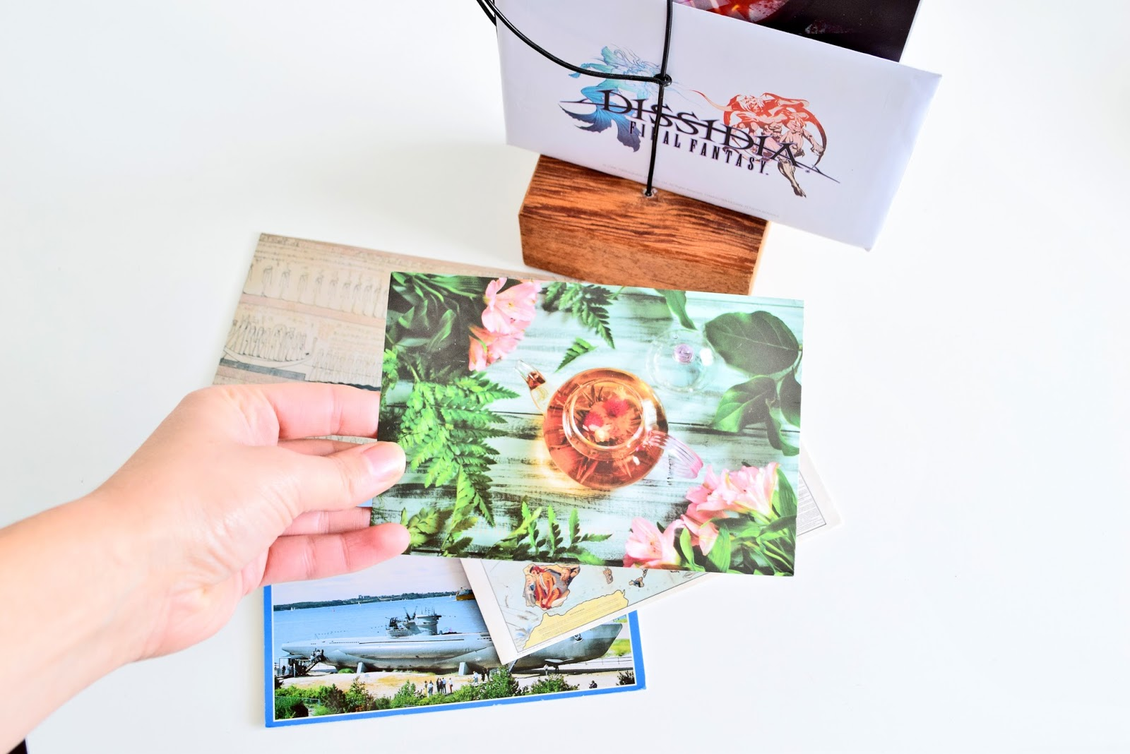 zbiór pocztówek