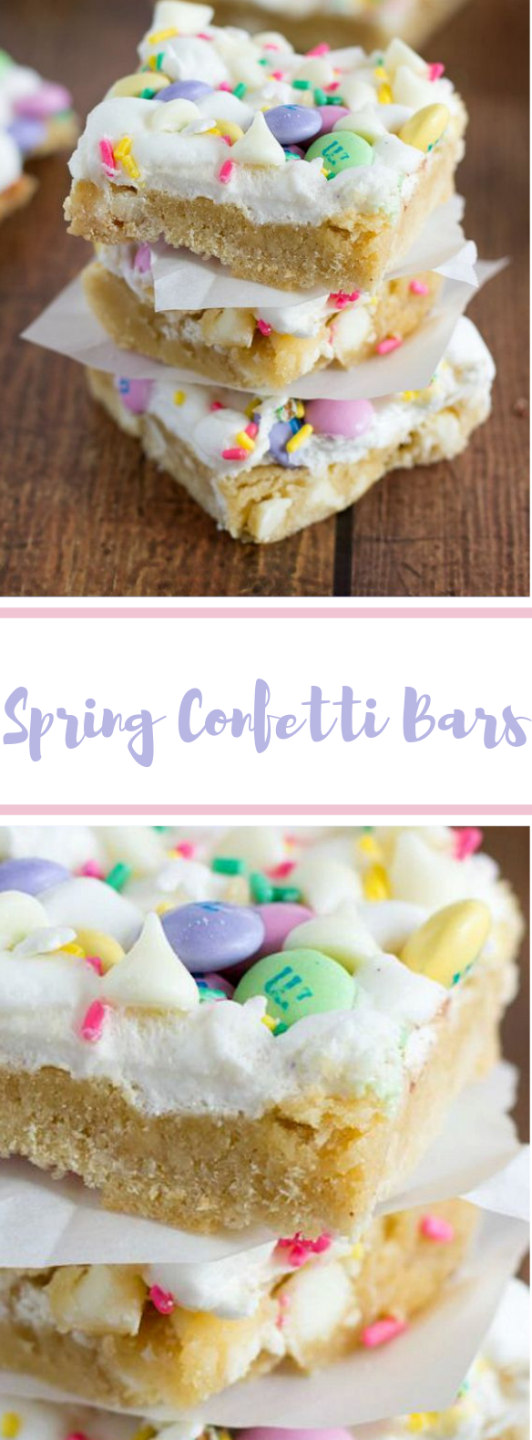 Spring Confetti Bars #easter #desserts