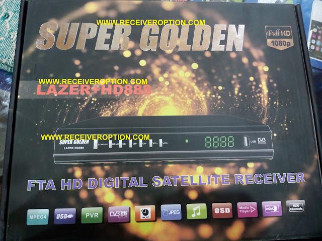 SUPER GOLDEN LAZER PLUS HD888 RECEIVER BISS KEY OPTION