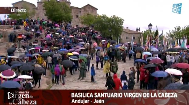 http://alacarta.canalsur.es/television/video/romeria-de-la-virgen-de-la-cabeza-2015/1831126/29