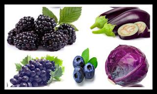 Benefits of blue foods
