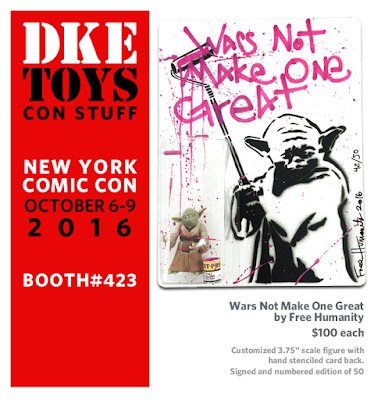 New York Comic Con 2016 Exclusive Wars Not Make One Great Star Wars Resin Figure by Free Humanity x DKE Toys