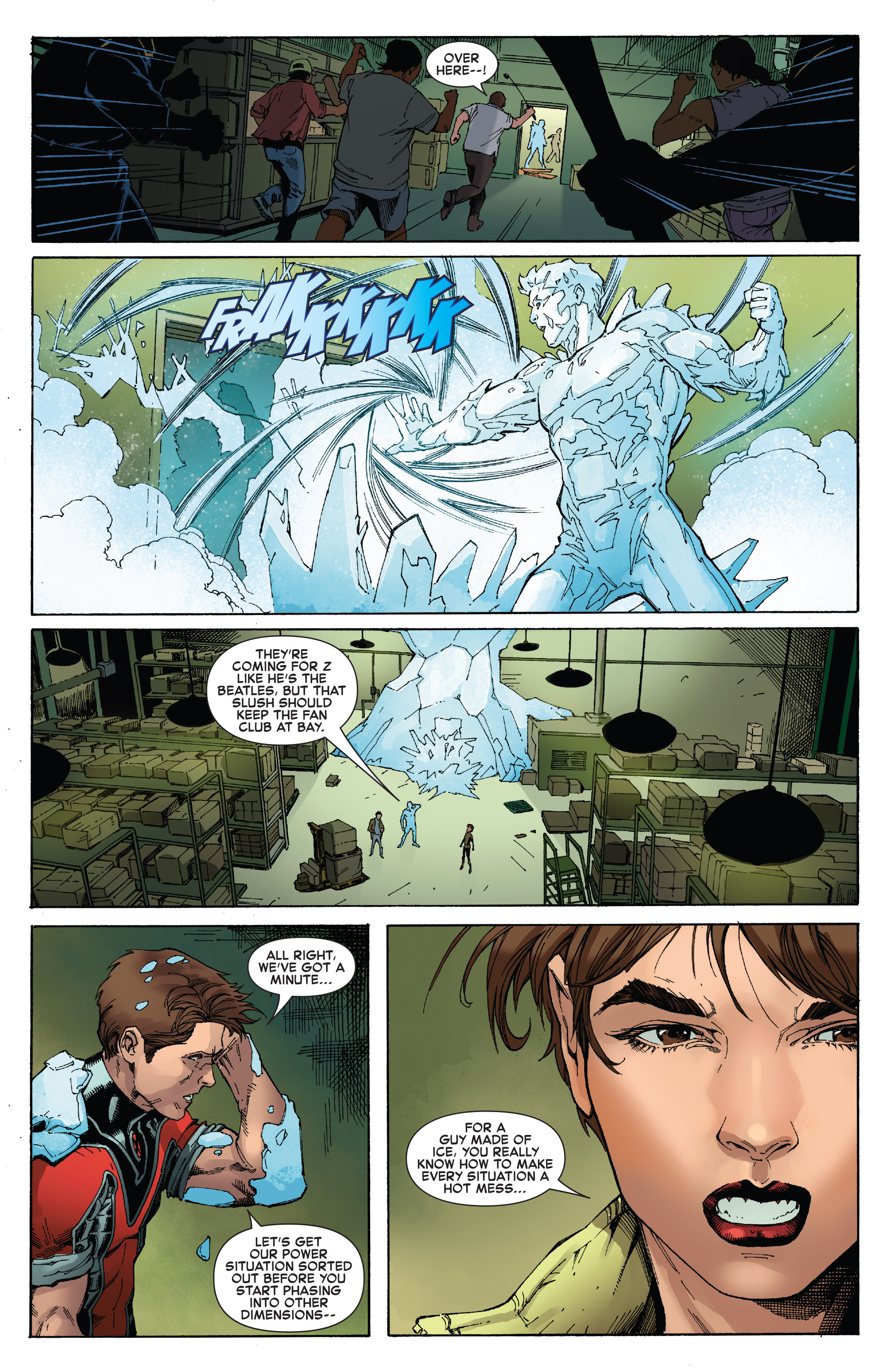 Read online Iceman (2017) comic -  Issue #2 - 14