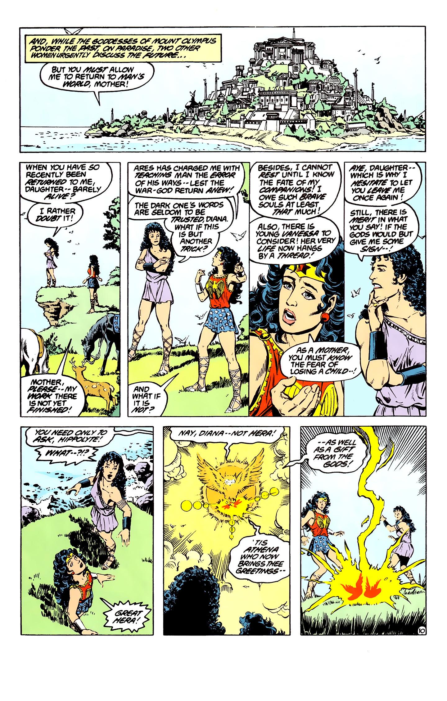 Read online Wonder Woman (1987) comic -  Issue #7 - 10