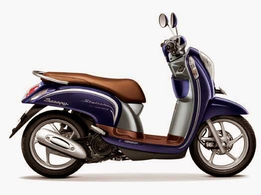 Honda Scoopy eSP Stylish Uptown Blue
