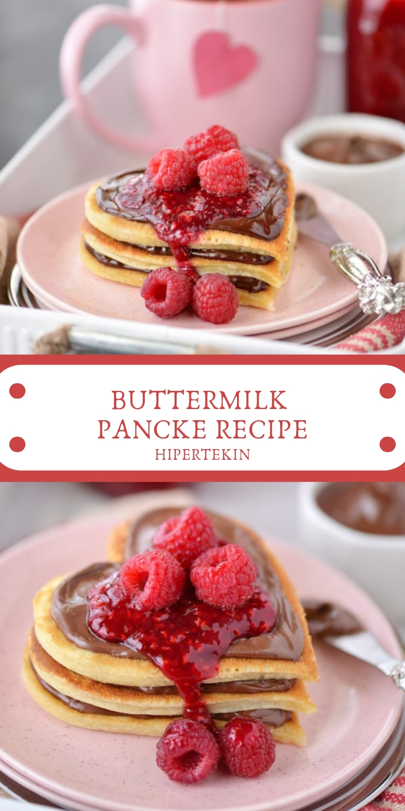 BUTTERMILK PANCKE RECIPE