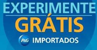 Cadastrar Promoção P&G Experimente Importados Grátis Testar Produtos