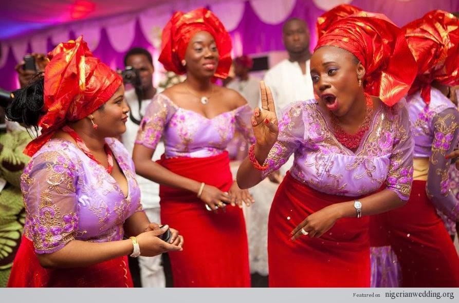 Photos Of Nigeria: Proudly Nigerian Aso Ebi Display