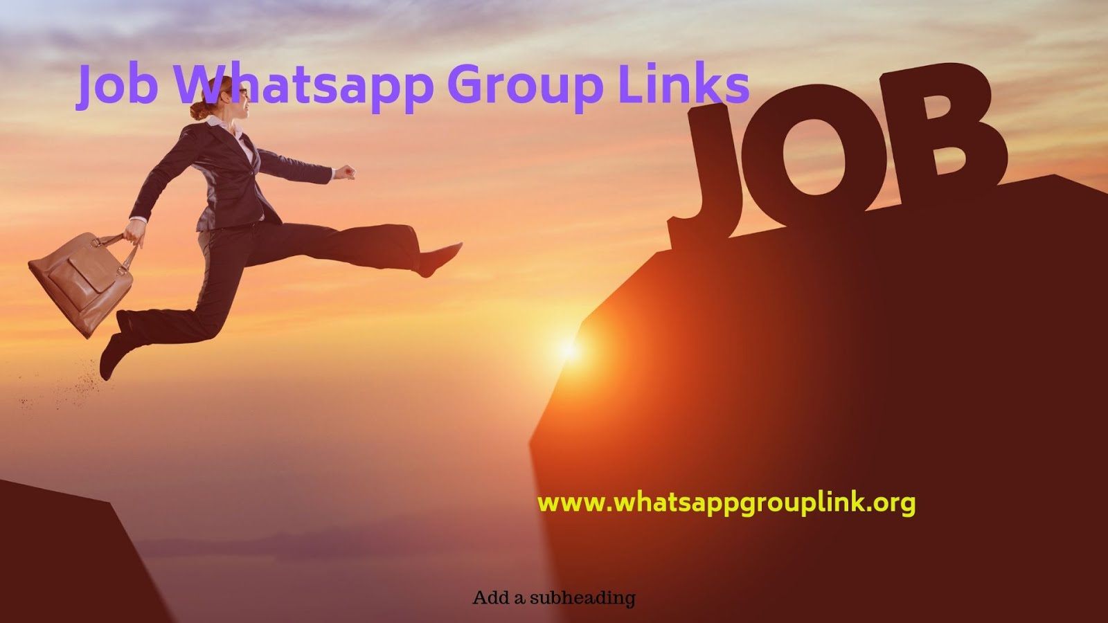 Whatsapp Group Link: Jobs Whatsapp Group Links