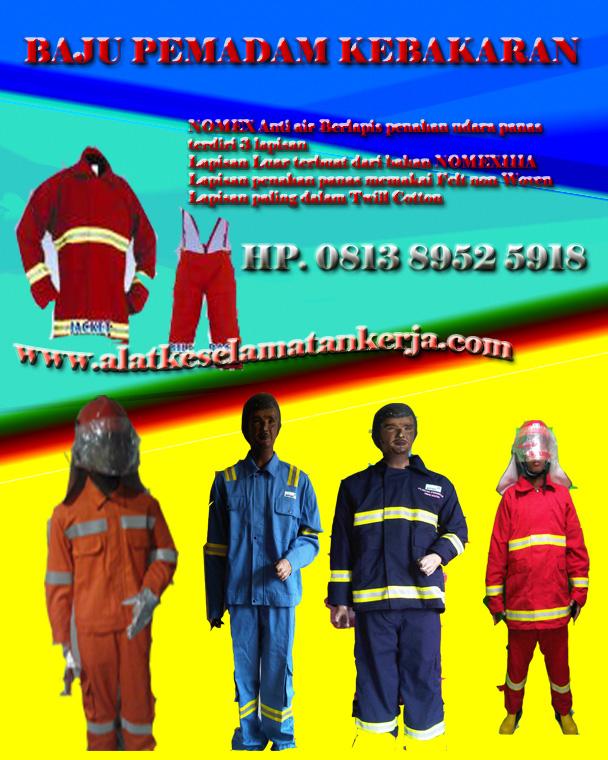 Perlengkapan baju pemadam kebakaran nomexIIIA
