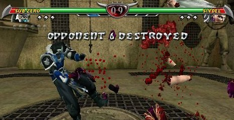 Download Mortal Kombat Unchained ISO CSO PPSSPP High Compress