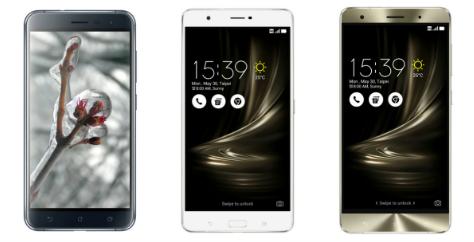 Asus ZenFone 3, ZenFone 3 Deluxe, and ZenFone 3 Ultra